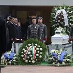 Galéria: végső búcsú a halálra gázolt rendőrtől