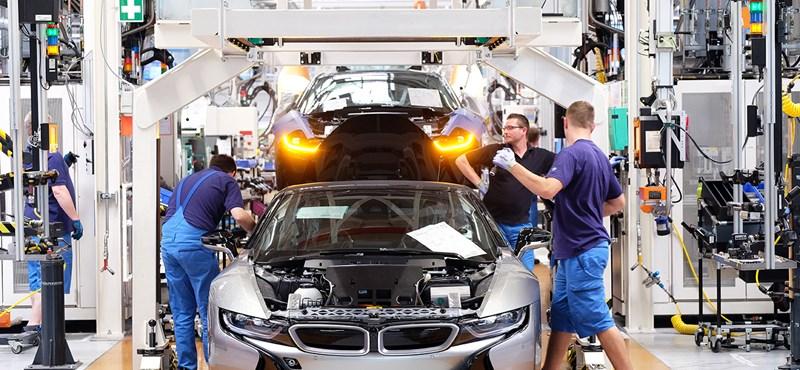 A BMW-gyárra szánhat a kormány 19 milliárd forintot?
