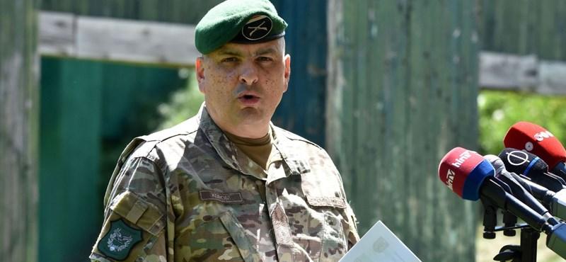 Honvédelmi Minisztérium: A Honvédség parancsnoka maga kérte a felmentését