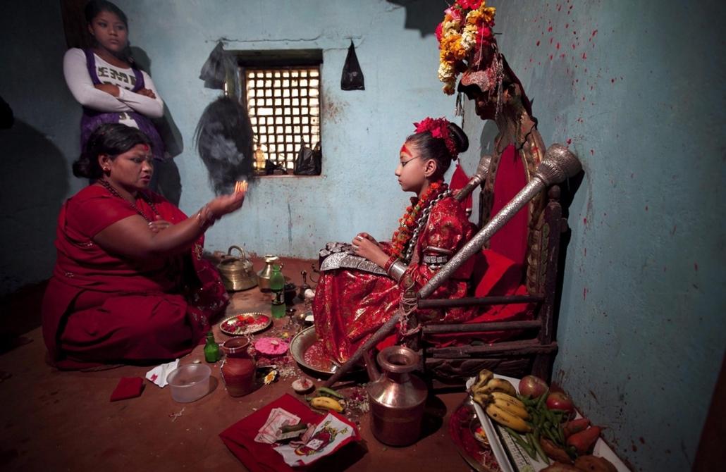 Nepál hindu buddhizmus fotóriport