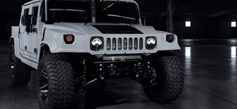 Kőkemény terepes: feltámadt Schwarzenegger kedvence, a Hummer H1