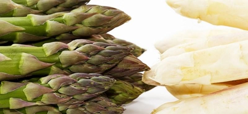 Mesterszakácsok ajánlata: spárga a Meridienből