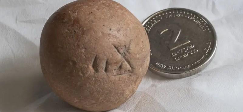 Találtak egy 2700 éves súlymértéket a Siratófal közelében