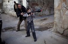 A szíriai fegyveres ellenzék elvesztette egyik utolsó erősségét