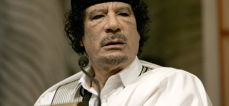 Háborús bűnösnek nevezte Kadhafi Sarkozyt