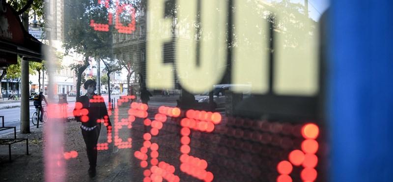 A forint ismét történelmi mélypontja felé sántikál