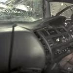 Ha ezt a videót megnézi, nem ül többet légzsák nélküli autóba