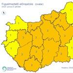 Felhőszakadásra figyelmeztet a meteorológiai szolgálat