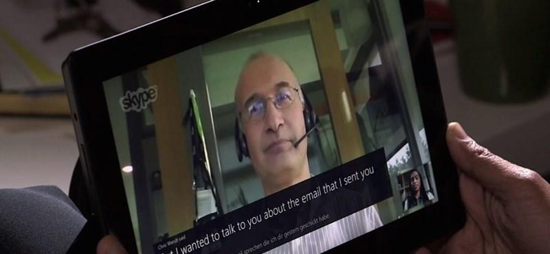 Sietni kell: csak kevesen próbálhatják ki a Skype tényleg durva újítását
