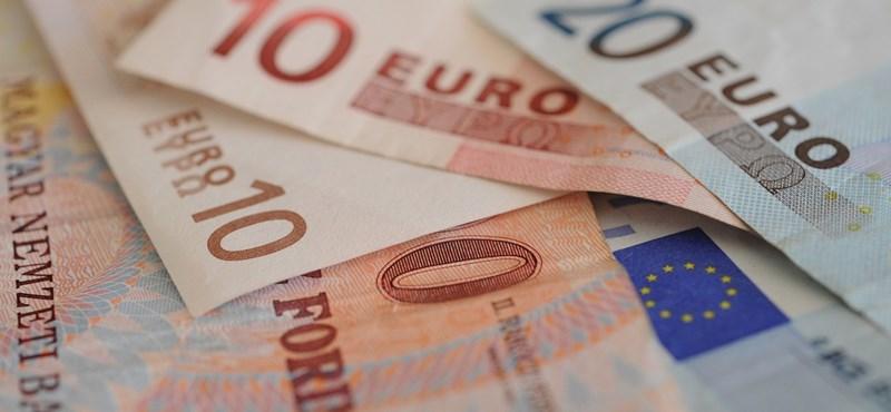 296,80 forinton jegyezték az eurót délután