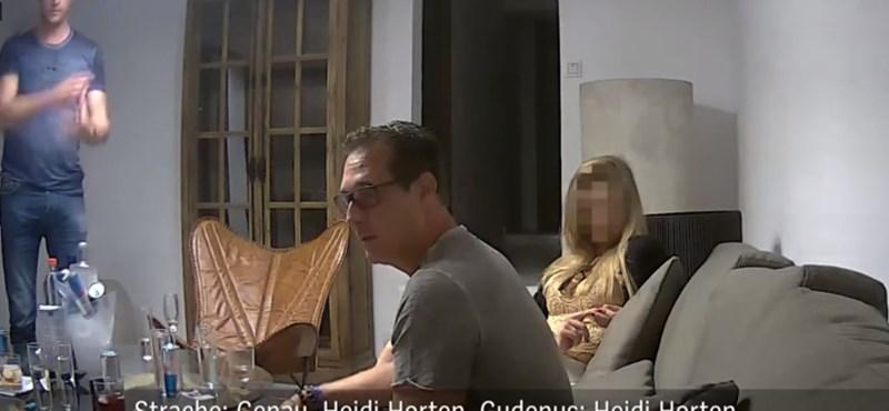 Videóra vették Ibizán, ahogy az osztrák alkancellár felkínálja egy orosz nőnek, hogy vesztegesse meg