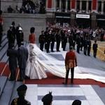 Több százezer forintot adtak Diana és Károly penészes tortaszeletéért