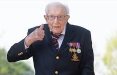 Film készül a százéves veteránról, Tom Moore-ról, aki milliókat gyűjtött a brit egészségügynek