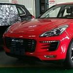 Itt a kínai Porsche Macan. Csak a németek meg ne tudják