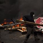 Rohamrendőrökkel csaptak össze bányászok Madridban