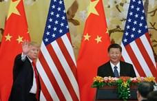Telefonon beszélt Trump és Hszi Csin-ping