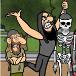 Magyar grafikus készített klipet a világhírű metal-csapatnak