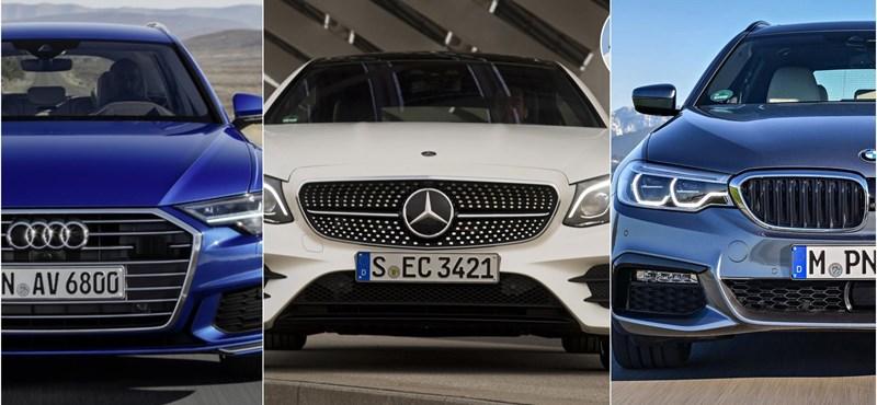 Audi, BMW, Mercedes – ki nyerte 2018-at?