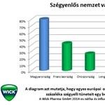 Nemzetközi felmérés: A magyarok pokolian megszenvednek egy könnyű kis náthát is