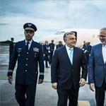 A titokban vett Falconnal repült Orbán Brazíliába
