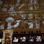 Ezt látni kell: gigantikus méretű karácsonyi 3D vetítés New Yorkban [videóval]