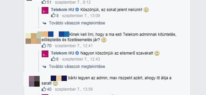 """""""Mi a ....bol van pénzük?"""" - Ilyen kérdésekre is választ ad a Telekom a Facebookon"""