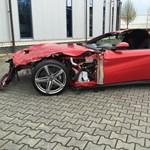 Kinek kell egy totálkáros Ferrari F12 Berlinetta egy vadonatúj BMW M4 áráért?