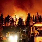Tornado de fuego gigante filmado en California