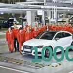 Így néz ki a százezredik új, győri Audi