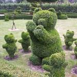 Bokorból nyírt kerti szobrok. Így készíthet Ön is ilyet!
