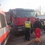 Teherautó lökte meg az egyik Ligetvédőt