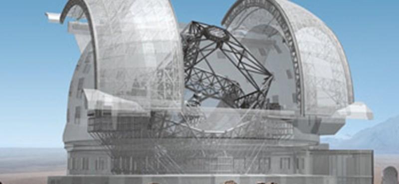 A világ legnagyob teleszkópját építik meg Chilében