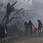 Fülöp-szigetek - több mint száz emberéletet követelt a tájfun?