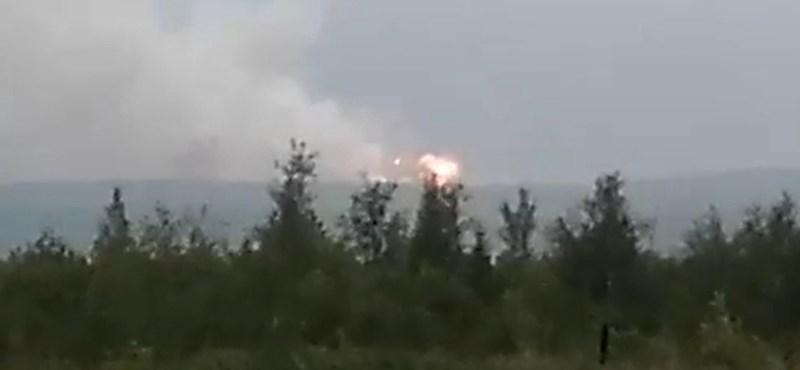 Egyre több a kérdőjel a legutóbbi orosz rakétarobbanással kapcsolatban