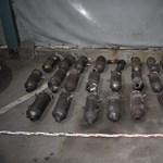 Több tucat lopott katalizátort találtak két román férfinál