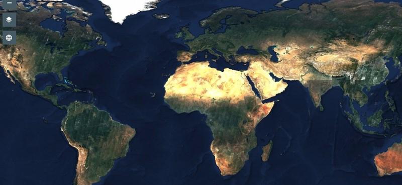 Készült egy 80 000 000 000 000 pixeles fotó a Földről, itt megnézheti