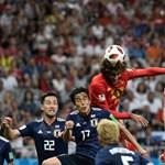 Belgium a sírból hozta vissza, Brazília viszonylag simán jutott tovább