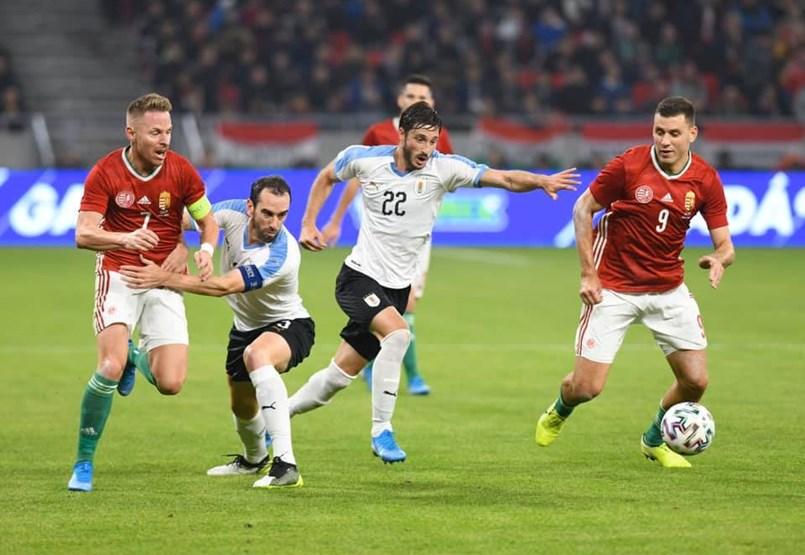 Magyarország-Uruguay - stadionavatás percről percre