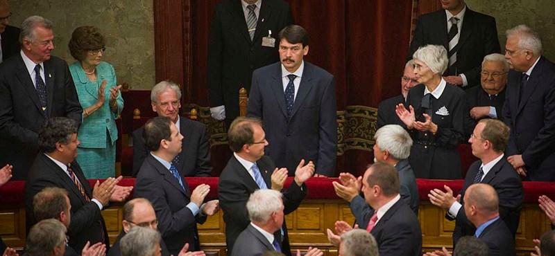 Mától Áder János lesz a köztársasági elnök