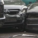 Nyolc autót tört össze a részeg sofőr Keszthelynél