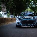 Ford ha sustituido el Fiesta por un híbrido Puma en el Campeonato del Mundo de Rallyes