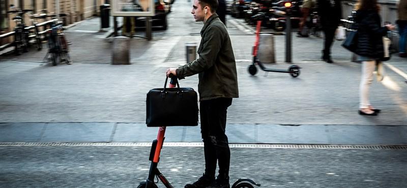 Milánóban is szigorítják az elektromos rollerek használatát