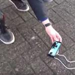 Ez a telefon szinte sértetlenül túlélte a 275 méteres zuhanást