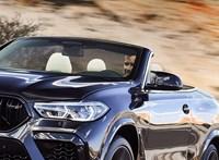 Kabrió dizájnterv készült a vadonatúj BMW X6 M-ből