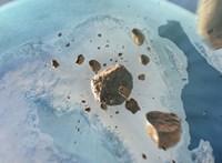 Sosem láttak még ilyet: 31 km-es krátert fedeztek fel, egy meteorit becsapódása okozta – képek, videó