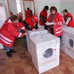 400 millió forint támogatással a Vöröskereszt az iszapcunami hőse