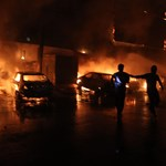 Égő pokollá változott egy benzinkút Pakisztánban – fotók