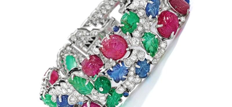 Rekordáron, több mint 420 millió forintért kelt egy Cartier-karkötő