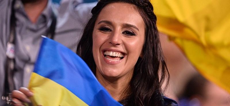 Háborúellenes dallal nyerte az Eurovíziót az ukrán versenyző