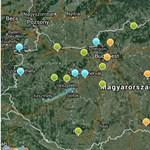Sok a szálló por, egészségtelen a levegő öt városban - térkép